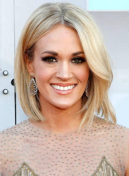 Carrie Underwood Short Blonde Hair