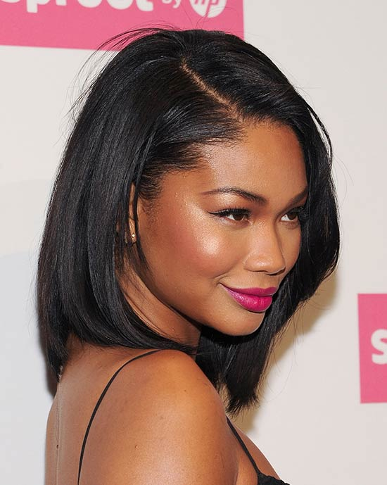 Chanel Iman Bob haircut