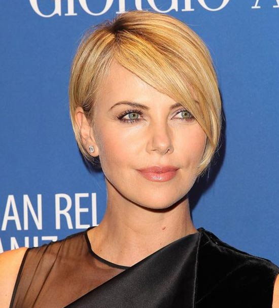 Charlize Theron Edgy Hairstyle