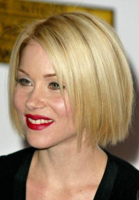 Christina Applegate Short Straight Hairstyles
