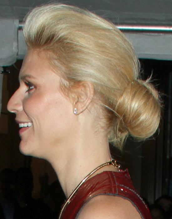 Claire Danes Updos for Short Hair