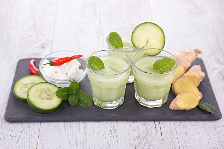 Cucumber Ginger Detox smoothie