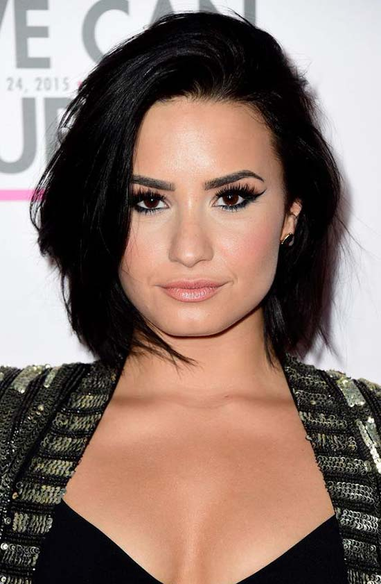 Demi Lovato Crazy Short Hairstyles For Women