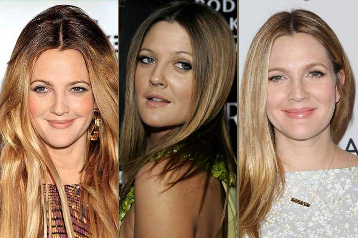 Drew-Barrymore Hairstyles