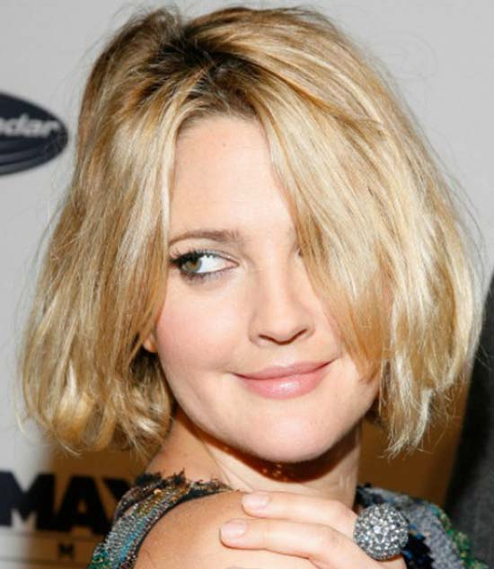Drew Barrymore Medium Straight Casual