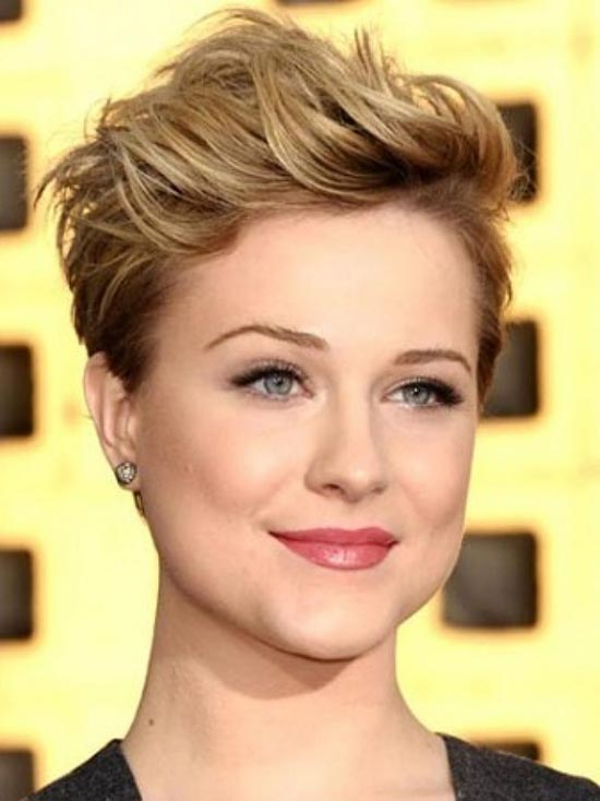 Drew Barrymore Pixie Cut for Round Face
