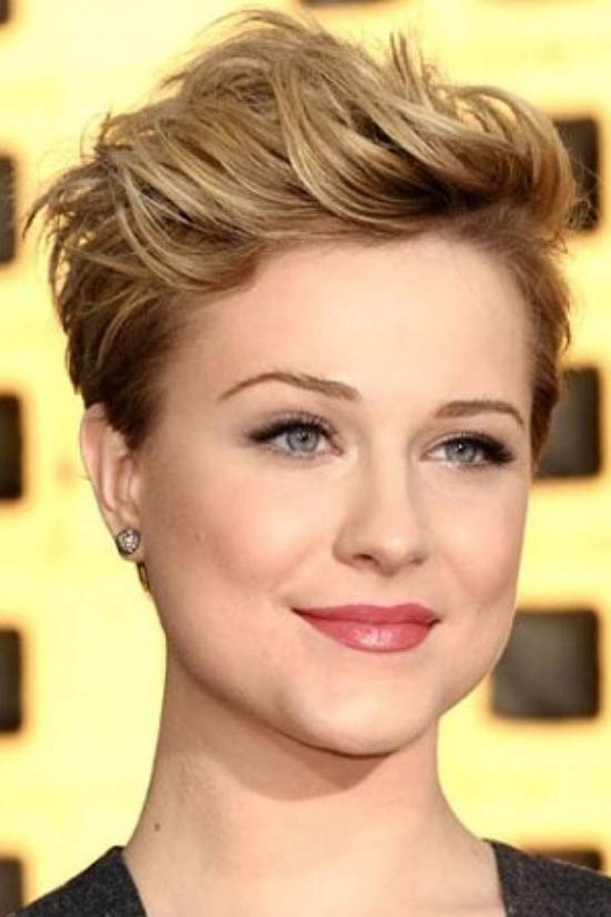 Drew-Barrymore Pixie-Haircuts-for-Round-Face