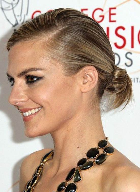 Eliza Coupe Updos-for-Short-Hair