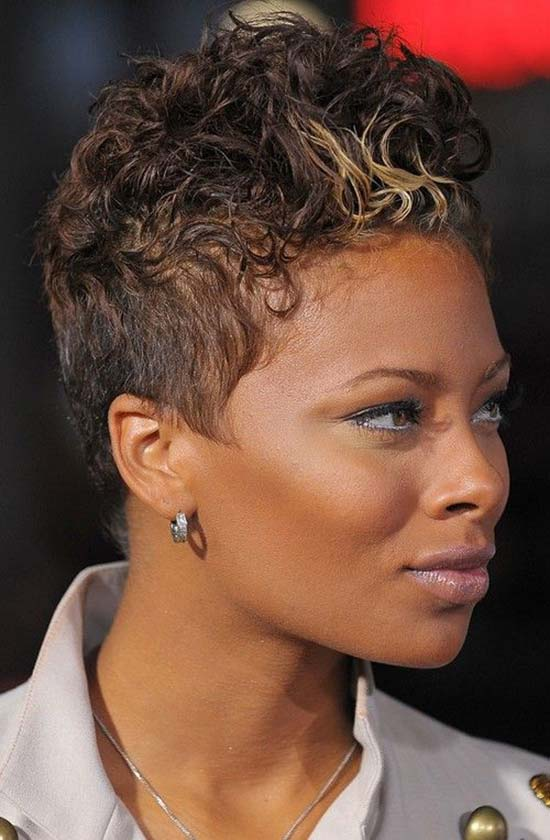 Eva Marcille Short Pixie cut
