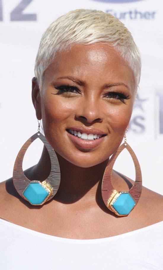 Eva Marcille boy cut