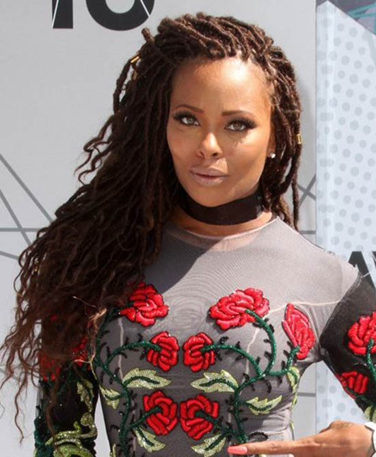 Eva Marcille funk locks hairstyle