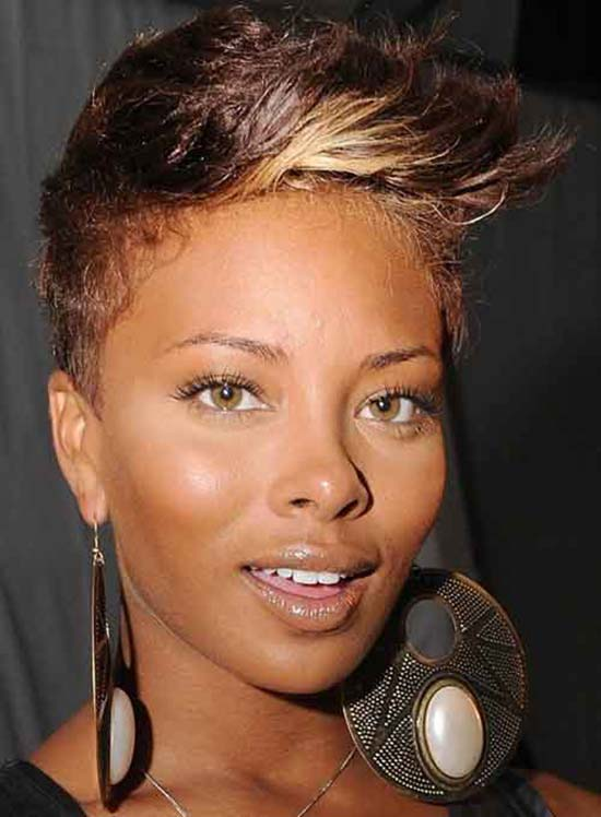 Eva Marcille short punk hair