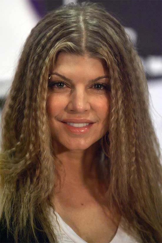 Fergie Crimped-Hair