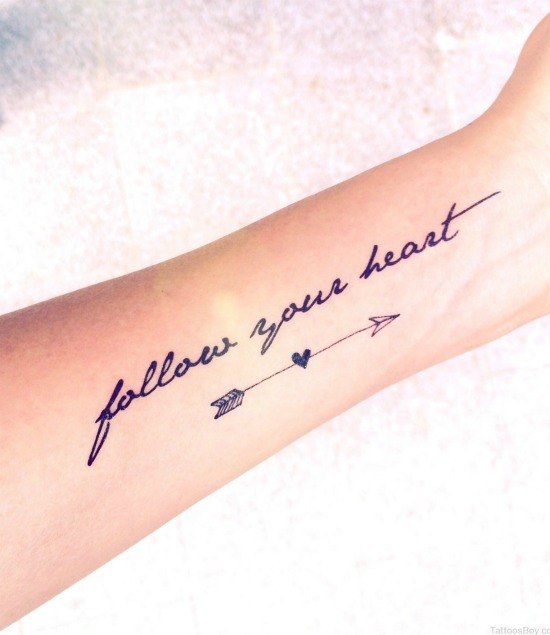 Follow Your Heart Tattoo