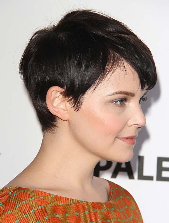 Ginnifer Goodwin Chic Hairstyle