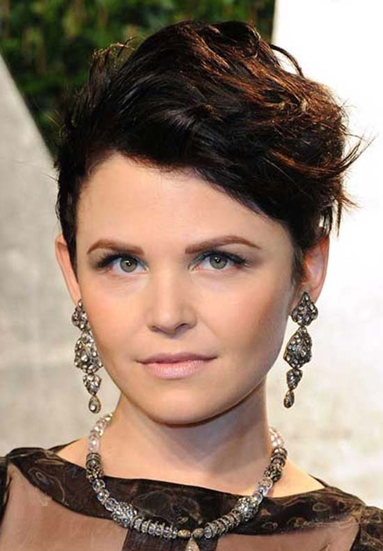 Ginnifer Goodwin Chic Pixie Haircut