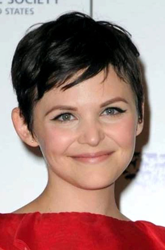 Ginnifer Goodwin Cute Silky Pixie Hair