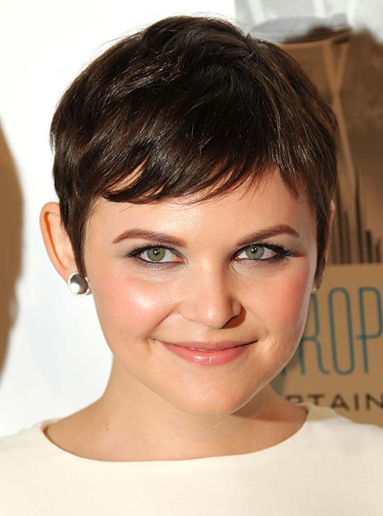 Ginnifer Goodwin Cute Straight Pixie