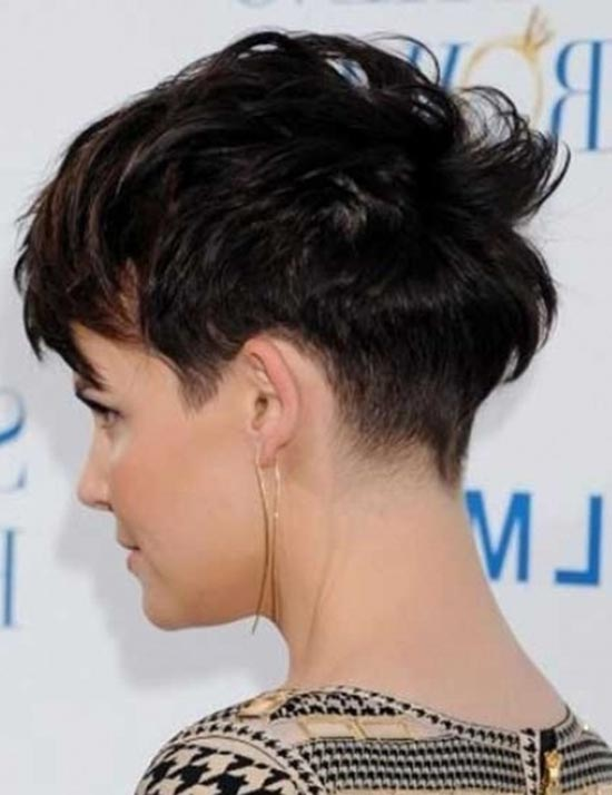 Ginnifer Goodwin Messy Pixie Haircut