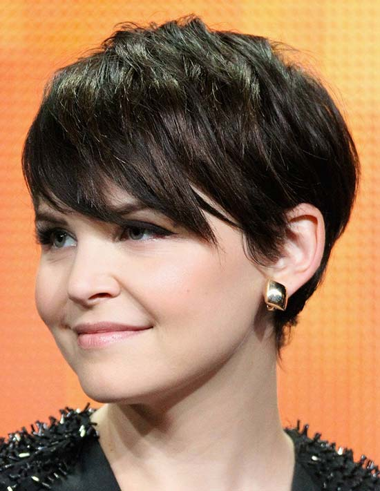 Ginnifer Goodwin Short Cut Pixie