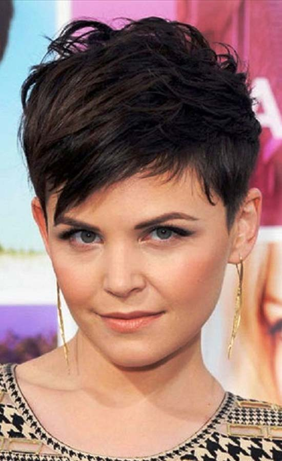 Ginnifer Goodwin Thick Pixie Hair