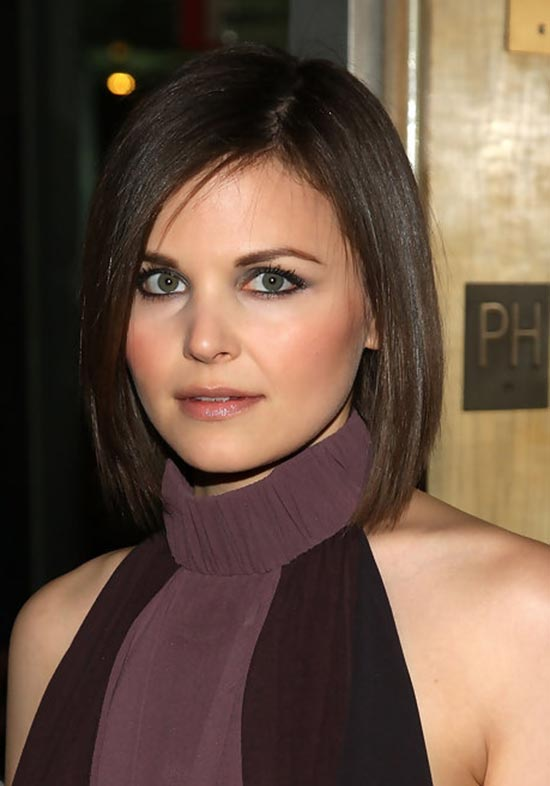 Ginnifer Goodwin medium length bob hairstyle