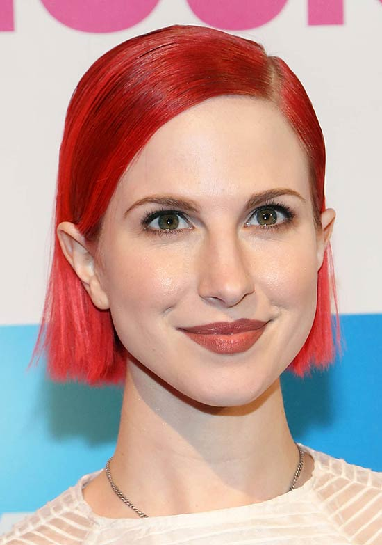 Hayley Williams Edgy Hairstyle