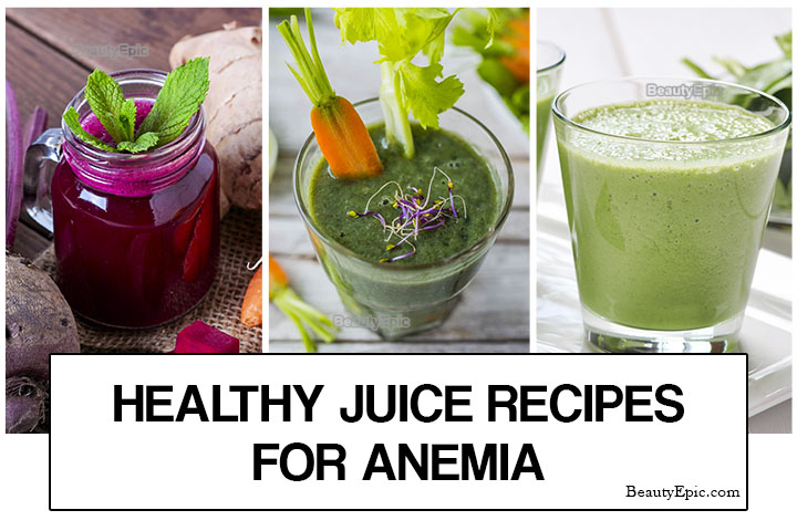 5 Healthy Juice Recipes for Anemia