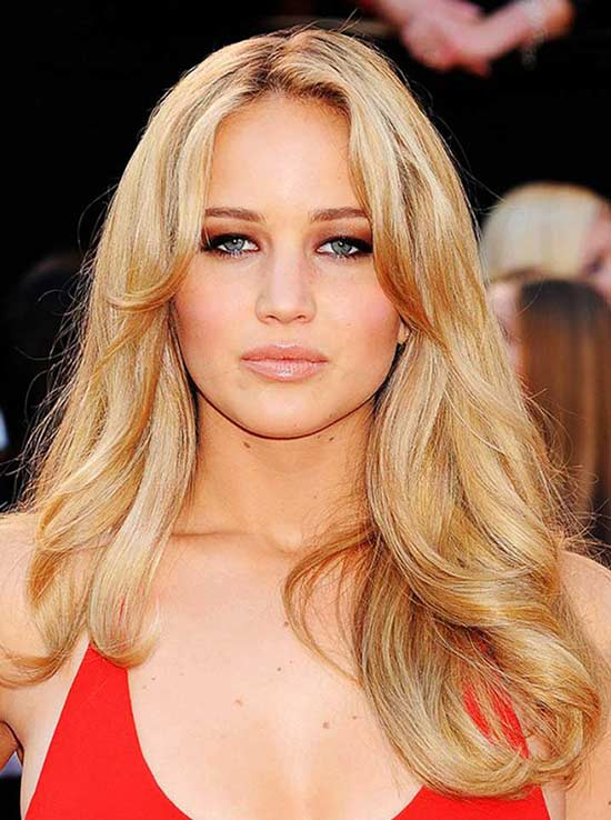 Jennifer Lawrence Long Hair