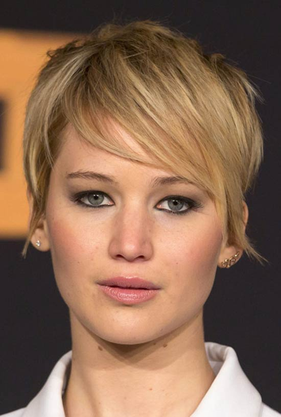 Jennifer Lawrence's Short Hair