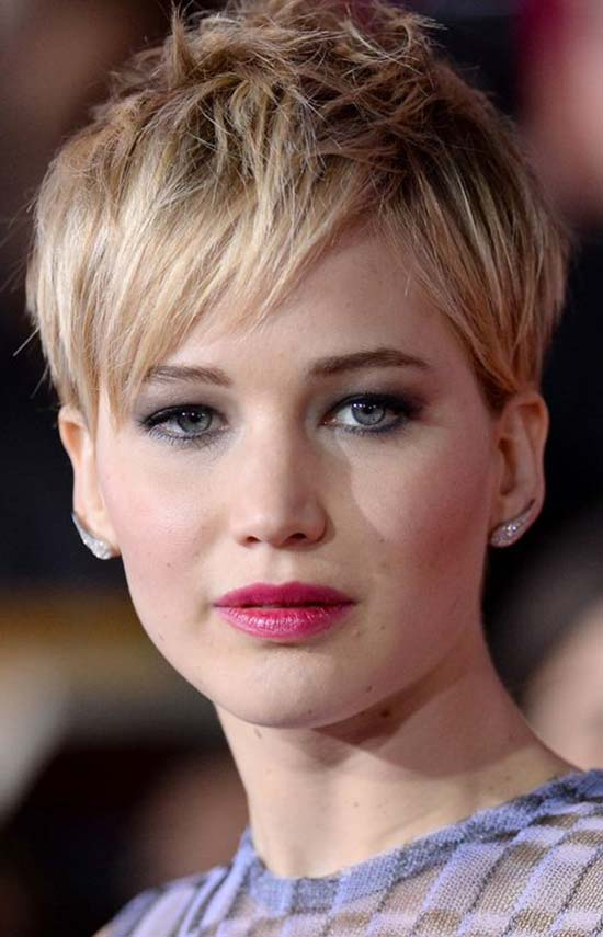 Jennifer Lawrence's pixie crop