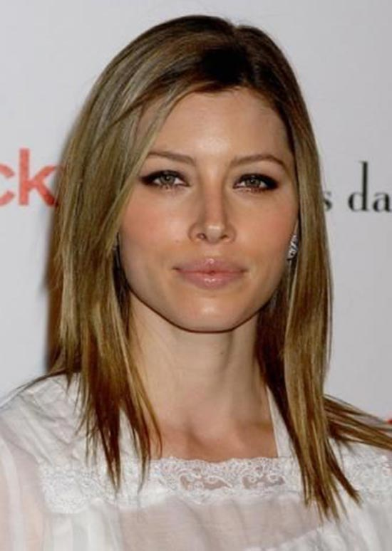 Jessica Biel Edgy Hairstyle