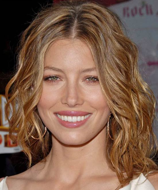Jessica-Biel Short Brown Hairstyles