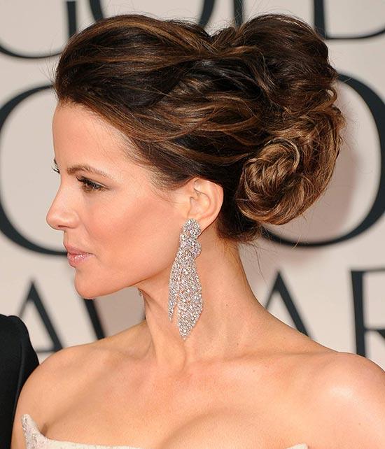 Kate Beckinsale Updos for Short Hair