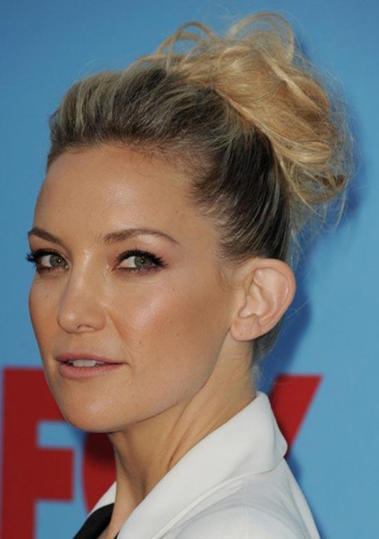 Kate Hudson Updos for Short Hair