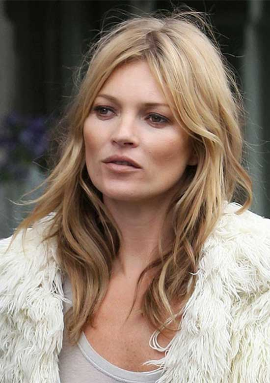 Kate Moss Long Hairstyle