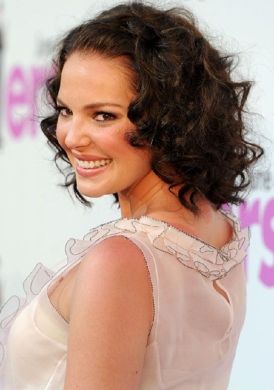 Katherine Heigl Curly Haircuts for Fine Hair
