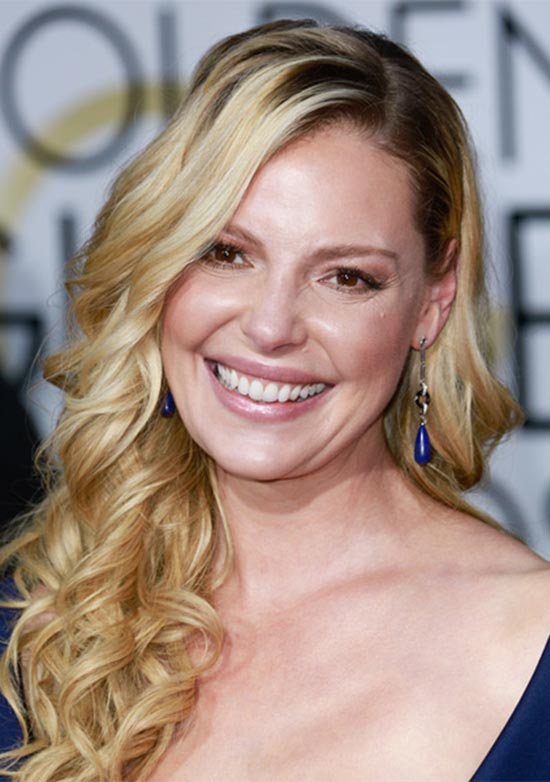 Katherine Heigl Long Curly Formal