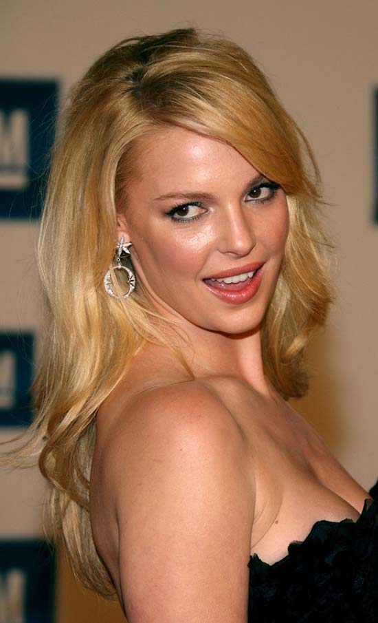 Katherine Heigl Long Hairstyles Layered Cut