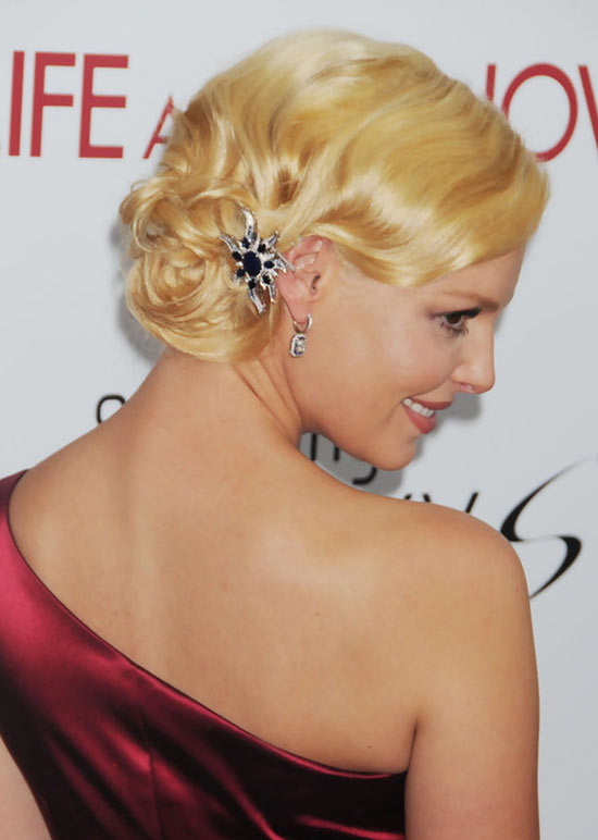 Katherine Heigl Pinned Up Ringlets