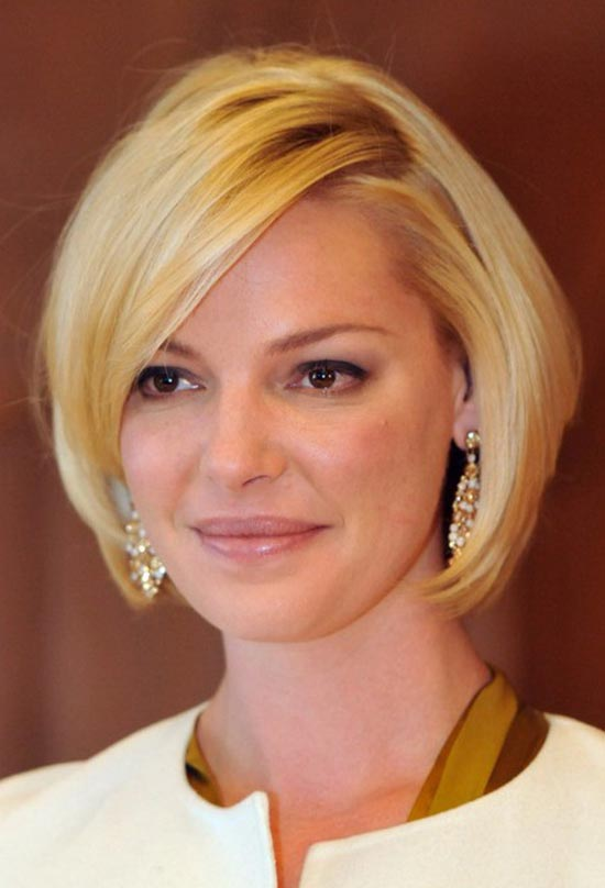Katherine Heigl Short Shag Hairstyle