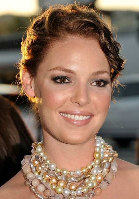 Katherine Heigl brown hair