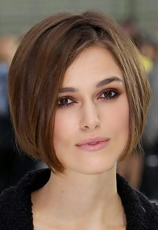 21 best short brown hairstyles you must try immediately keira knightley short brown hairstyles urmus Gallery
