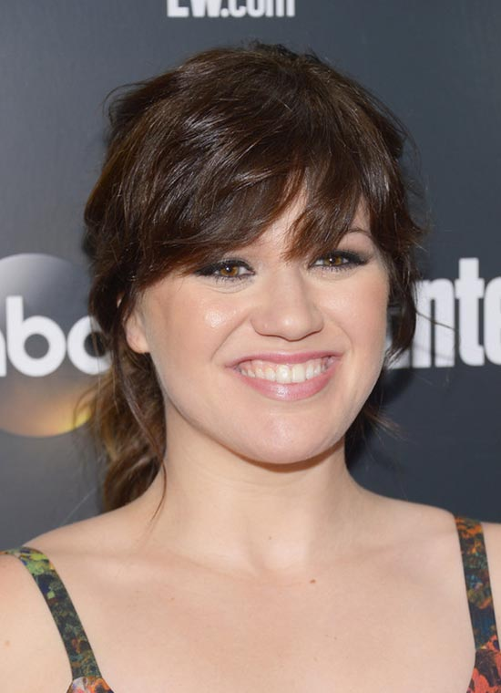Kelly Clarkson Ponytail