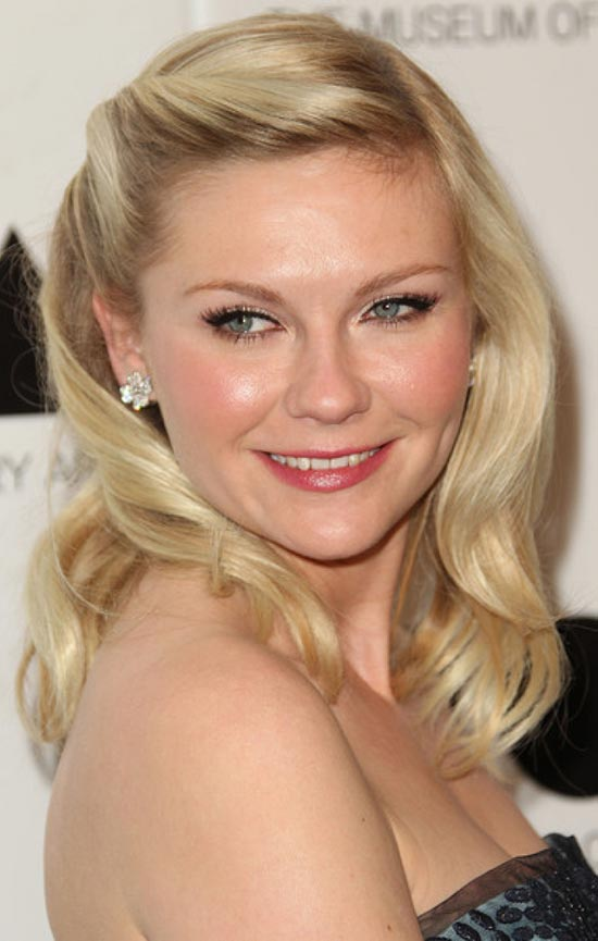 Kirsten-Dunst Prom hairstyle