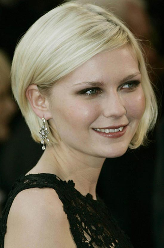 Kirsten Dunst Short Cute Layered