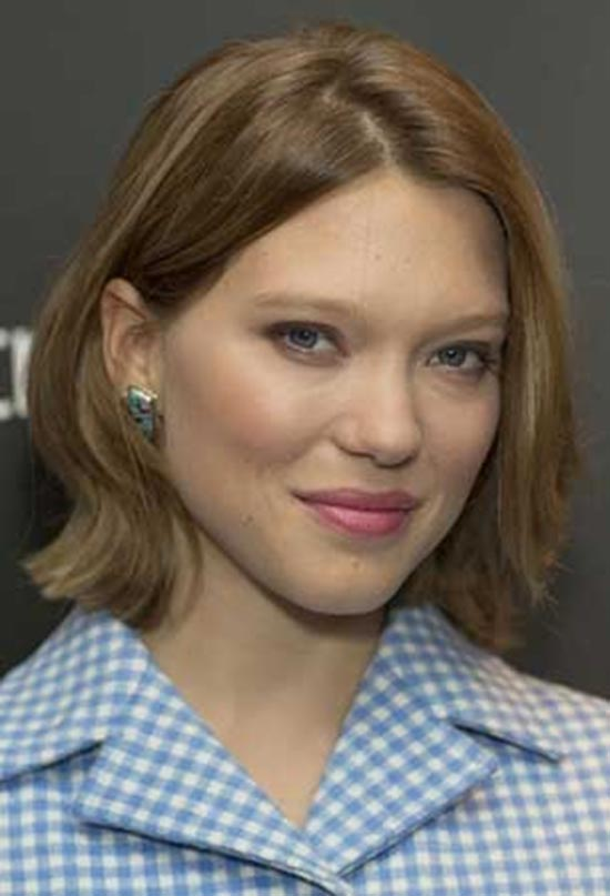 Léa-Seydoux Short Brown Hairstyles