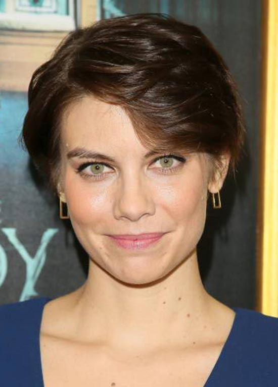 Lauren-Cohan Short Brown Hairstyles