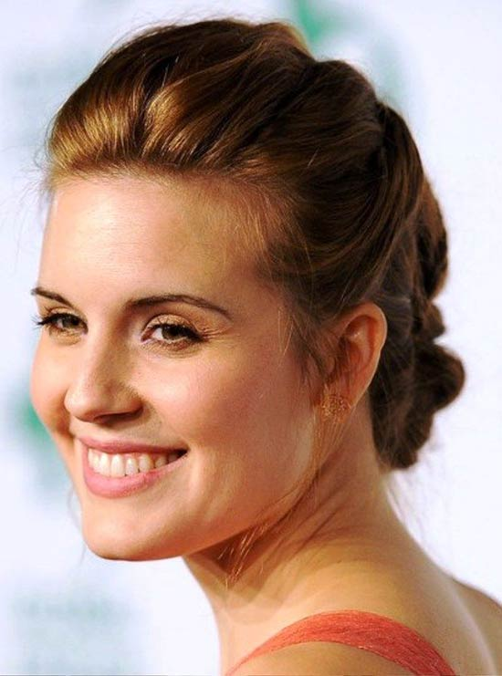 Maggie Grace Updos for Short Hair