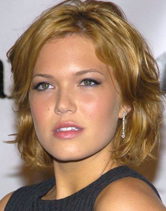 Mandy Moore Medium Bob